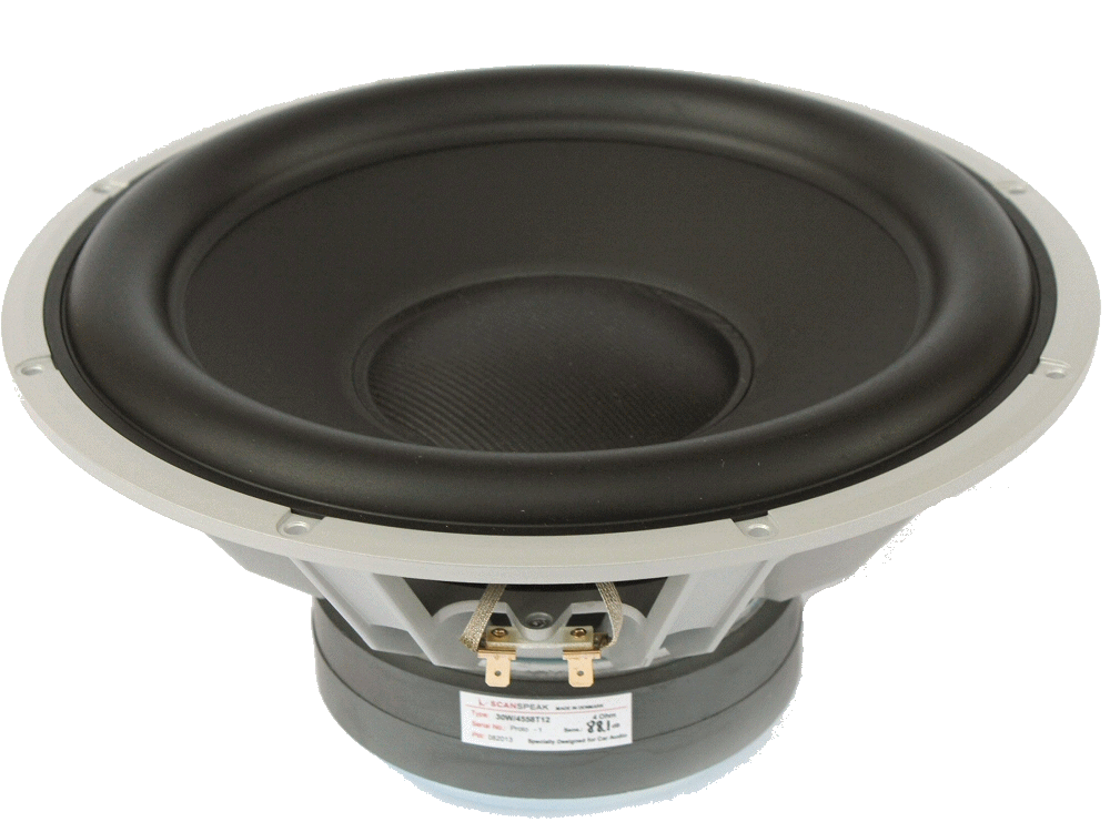 30W/4558T06 -  12 inch Subwoofer 4ohm