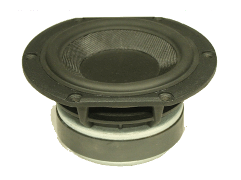 830992 - Peerless 4'' HDS-104 driver with glass-fibre cone
