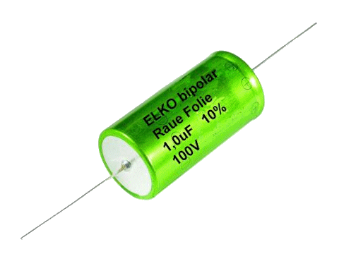 ERA/1.0/100 - Bipolar Rough foil capacitor 1uF 100V