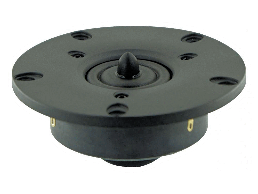 XT25TG-30/04 - Vifa 1 inch tweeter dual concentric diaphragm wave-guide center plug